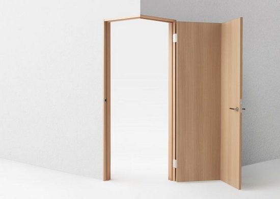 угловая межкомнатная дверь фото