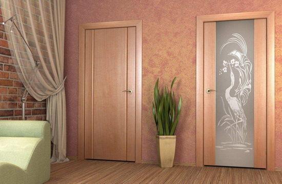 модель межкомнатных дверей