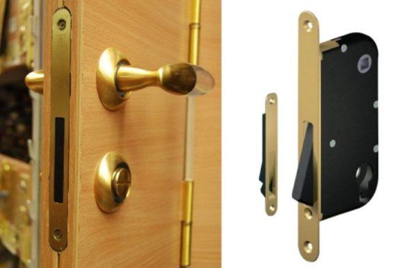 магнитный замок для межкомнатной двери