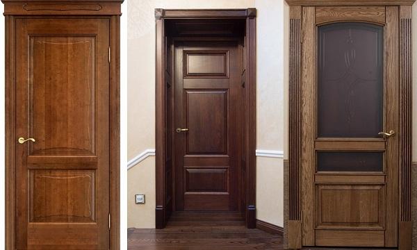 межкомнатные двери из дуба