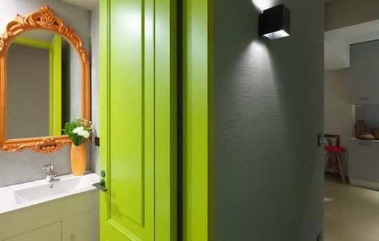 Окрашенные межкомнатные двери