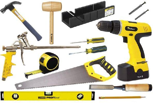 Набор инструментов для установки входных дверей