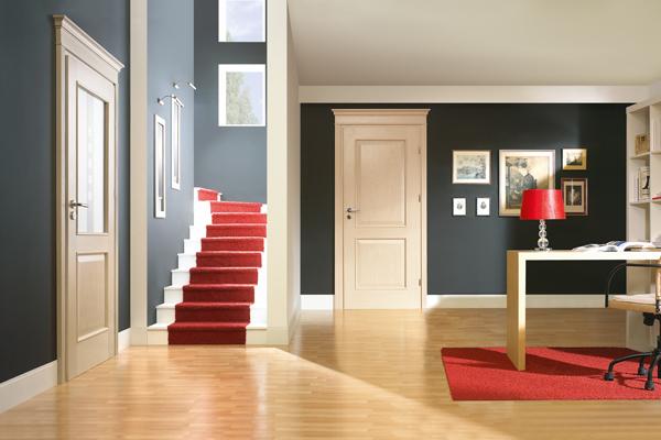 Как подобрать межкомнатные двери под цвет ламината фото