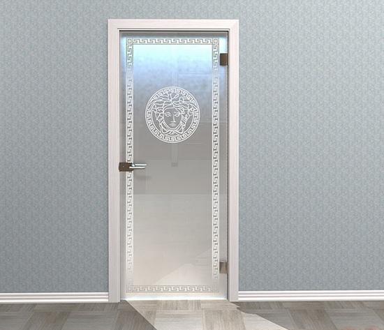 Двери межкомнатные стеклянные матовые