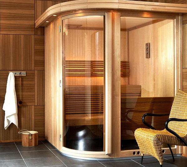 Стеклянные входные двери для бани и сауны фото