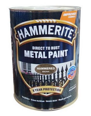 Молотковая эмаль для покраски металлических необработанных поверхностей