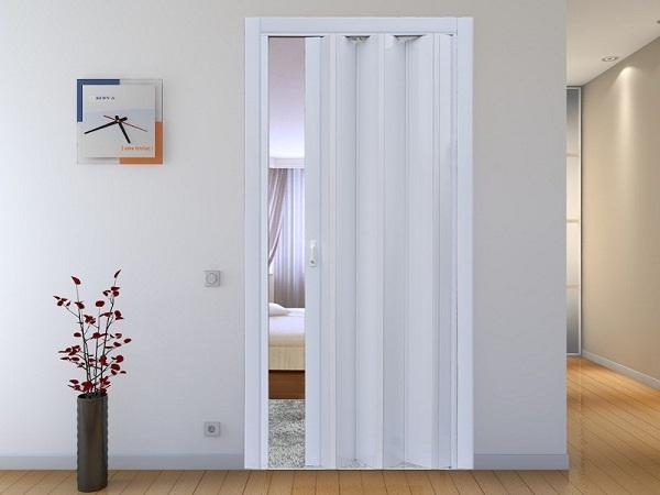 пластиковая дверь гармошка фото