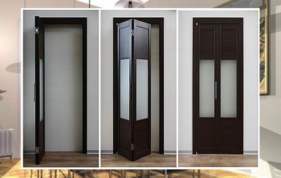 Отличие межкомнатных дверей-гармошек