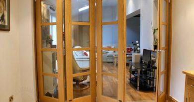Как выбрать межкомнатные пластиковые двери гармошка