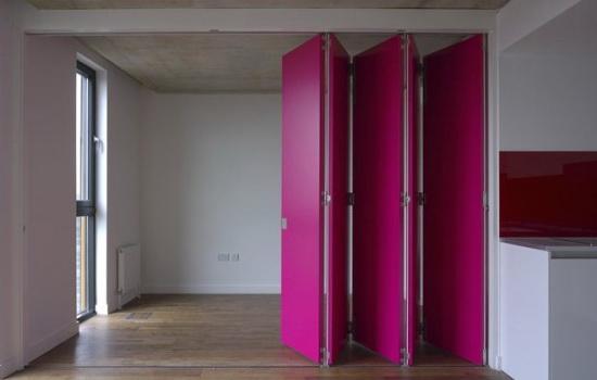 двери гармошки из ПВХ