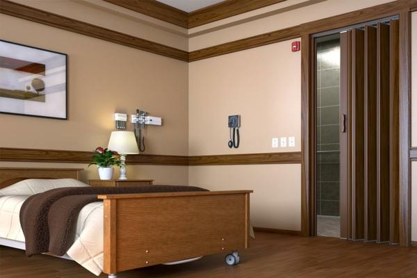 Какую межкомнатную дверь гармошку выбрать