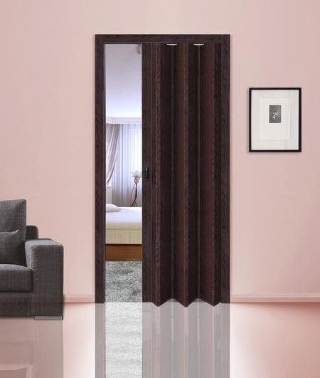 Особенности двери гармошки из ПВХ