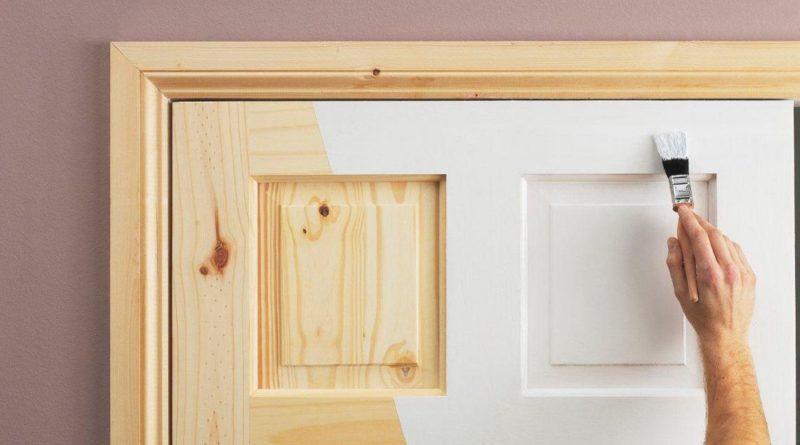 как отреставрировать межкомнатную деревянную дверь