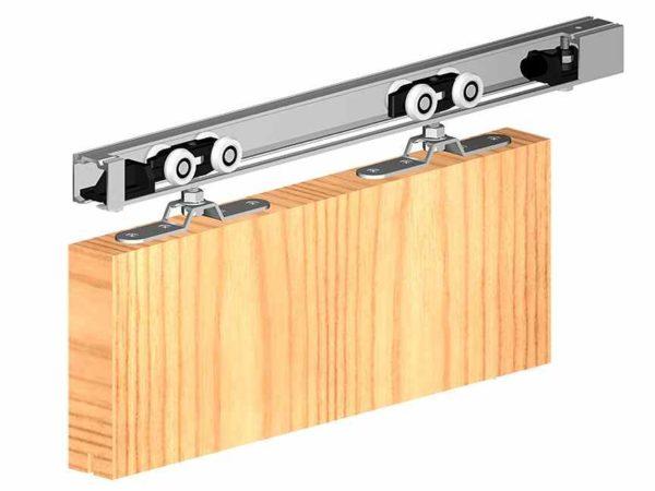 раздвижной механизм для межкомнатных дверей