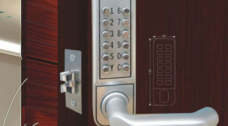 Кодовый замок на дверь