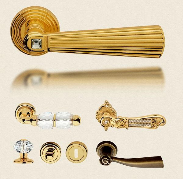 ручки для межкомнатной двери из разных материалов