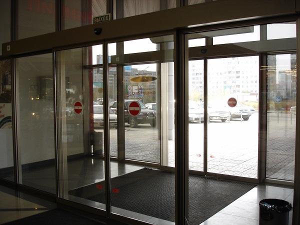 автоматические двери преимущества