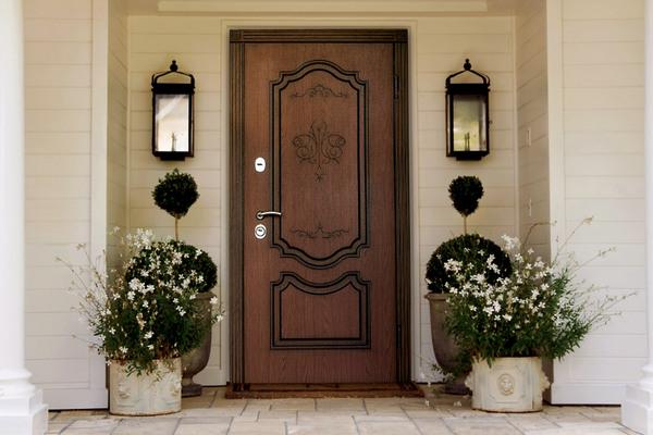 Выбор входной металлической двери по дизайну