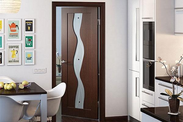 Двери из ПВХ в интерьере квартиры фото