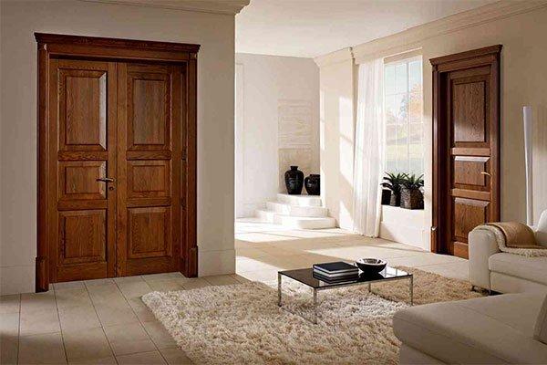 Межкомнатные двери из сосны фото