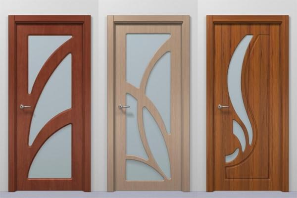 межкомнатной двери из МДФ фото