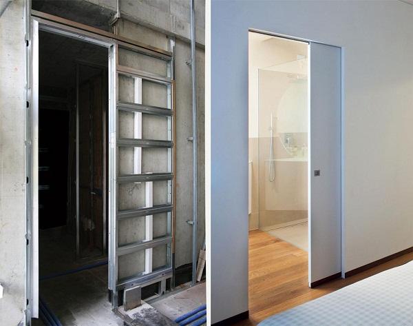 преимущества сдвижных дверей
