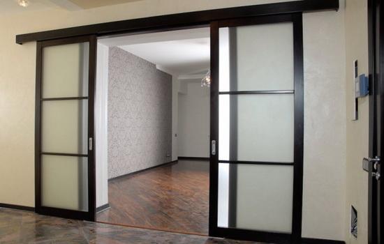 Из какого материала выбрать сдвижных дверей