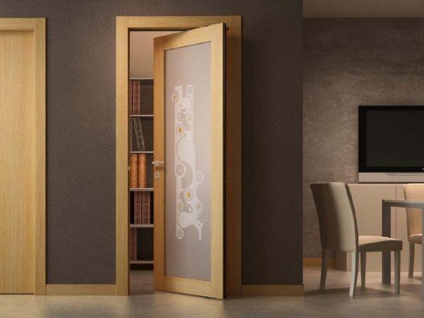 Поворотно-сдвижные межкомнатные двери