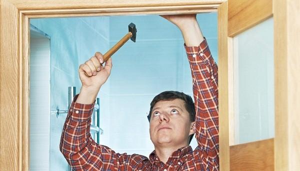 Способы устранения дефектов межкомнатных дверей