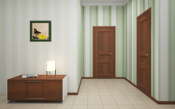 Как подбирать двери цвета светлый орех