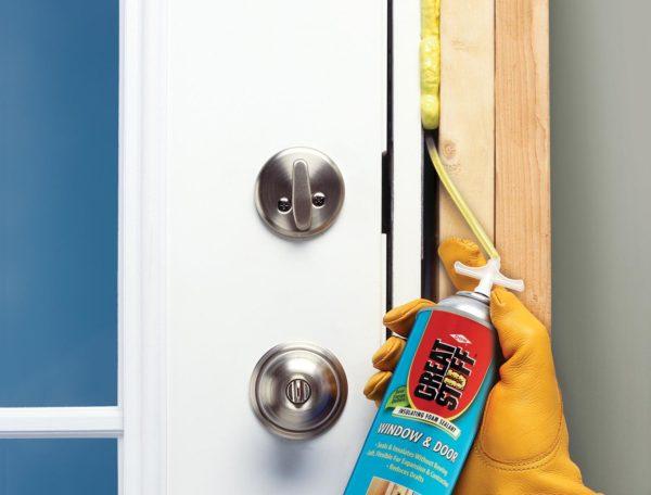 Как запенить двери для улучшения шумоизоляции