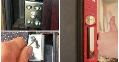 Как правильно выполнить регулировку входной двери