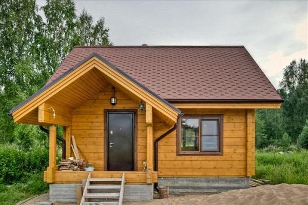 Строительство домов и бани из клееного бруса